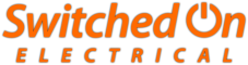Switched On Electrical – 07825 337442 / 01769 561277 Logo